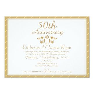 50th Anniversary Invitations Announcements Zazzle