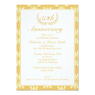 50th Wedding Anniversary Invitations, 3000+ 50th Wedding ...