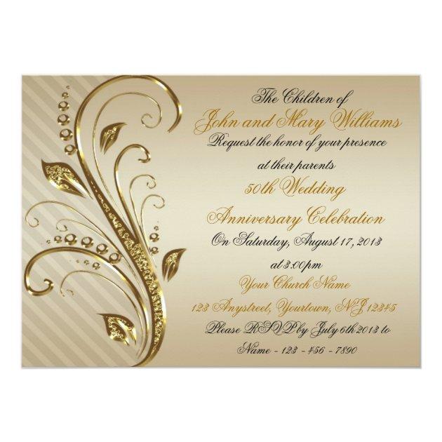 60th Wedding Anniversary Invitations 001 - 60th Wedding Anniversary Invitations