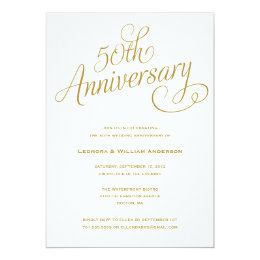 50TH | WEDDING ANNIVERSARY INVITATIONS 50TH | WEDDING ANNIVERSARY  INVITATIONS