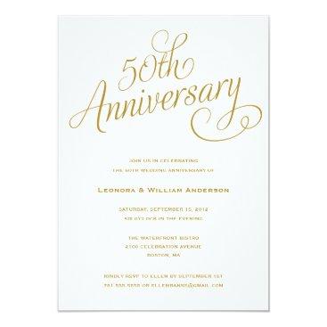 FINEandDANDY 50TH | WEDDING ANNIVERSARY INVITATIONS