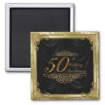 50th Wedding Anniversary Magnet Refrigerator Magnets
