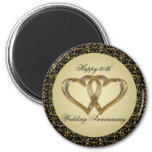 50th Wedding Anniversary Magnet Fridge Magnets