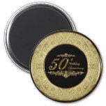 50th Wedding Anniversary Magnet Magnet