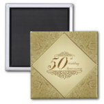 50th Wedding Anniversary Magnet Magnets