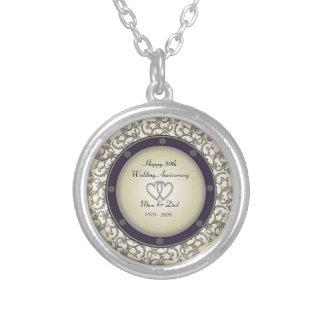 50th Wedding Anniversary Custom Jewelry