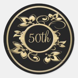 50th Wedding Anniversary or Birthday Sticker
