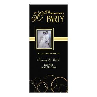 50th Wedding Anniversary Party - Photo Optional Invitation