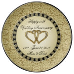 50th Wedding Anniversary Porcelain Plate at Zazzle