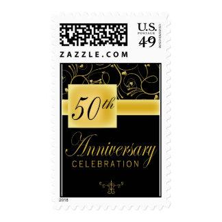 50th Wedding Anniversary Postage