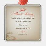 50th Wedding Anniversary, Religious Lord Bless Christmas Ornaments