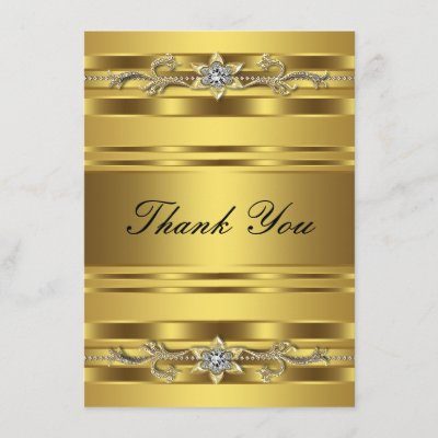 Golden Wedding 50th Anniversary Thank You Custom Zazzle Com