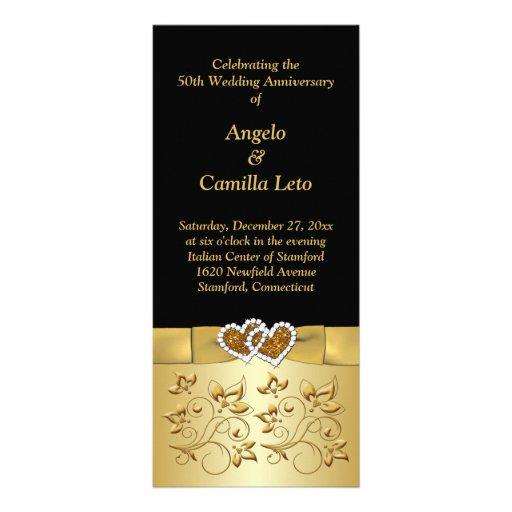 50th wedding anniversary sample program | just b.CAUSE