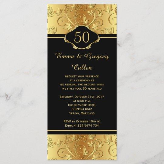 50th Wedding Anniversary Vows Renewal: 50th Wedding Anniversary Vows Renewal Program