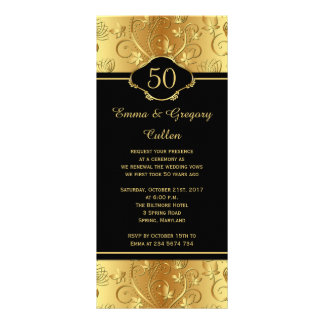50th Wedding Anniversary Vows Renewal Program