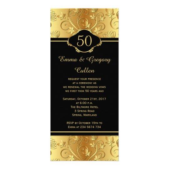 50th Wedding Anniversary Vows Renewal Program