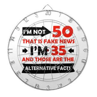 50th year old birthday gifts dart board