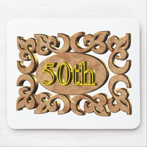 50thanniversary16t mouse pad