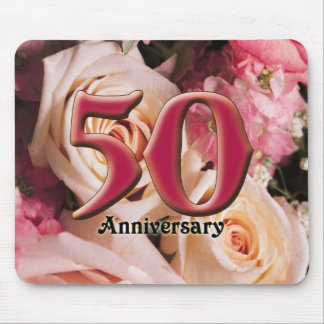 50thanniversary2 mouse pad