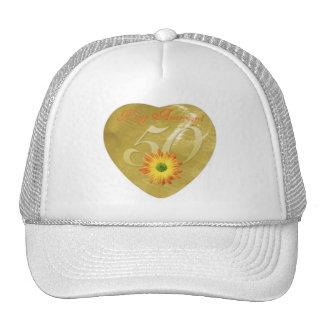 50thAnniversary Mesh Hats
