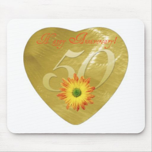 50thAnniversary Mouse Pad