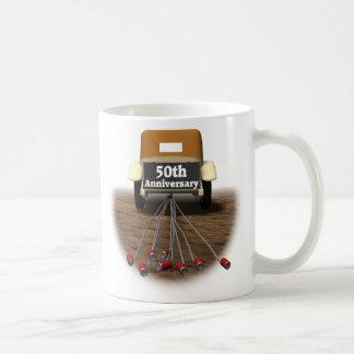 50thanniversaryt-shirts3 classic white coffee mug