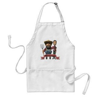 50thanniversaryt-shirts4 adult apron