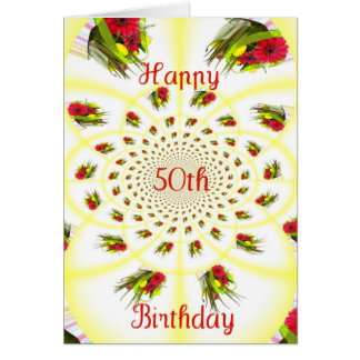 50thbirthday card