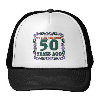 50thweddinganniversary gorro