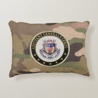 [510] AG Corps Regimental Insignia [3D] Accent Pillow