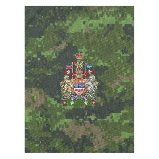 [510] Escudo de armas de Canadá [3D] Mantel De Tela
