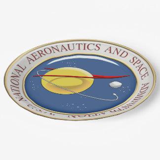 [510] NASA Emblem [3D] Paper Plate