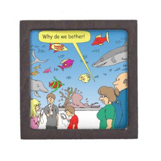 510 porqué lo hacemos moleste el dibujo animado cajas de recuerdo de calidad