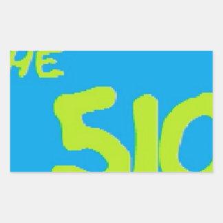 510 ware rectangular sticker