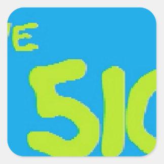 510 ware square sticker