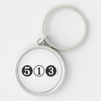 513 Area Code Mod  Keychain