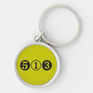 513 Area Code Premium Keychain (Mod)