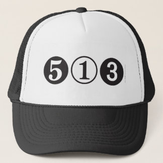513 Area Code Trucker Hat