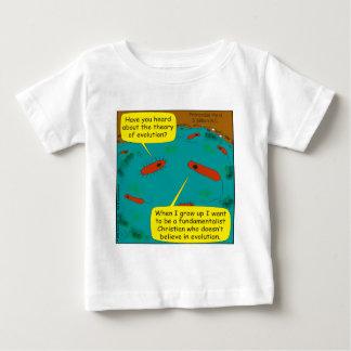 513 evolve into fundamentalist cartoon baby T-Shirt