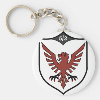 513th FIGHTER bomber squadron Basic Round Button Keychain