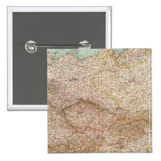 5152 Alemania, Polonia, Checoslovaquia Pin Cuadrado
