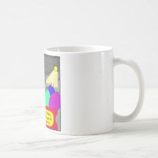 515 prison escape santa cartoon coffee mug