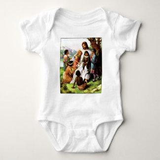 51608[2] Grandchildren are Gods' way Baby Bodysuit