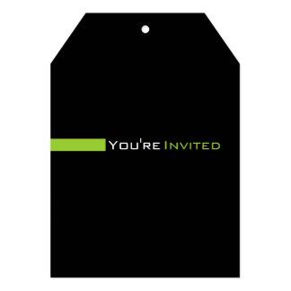 519 modernos de encargo invitación 12,7 x 17,8 cm
