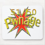 51/50 Pwnage mousepad