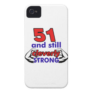 51 and still cleverly strong iPhone 4 cover
