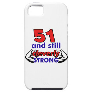 51 and still cleverly strong iPhone SE/5/5s case