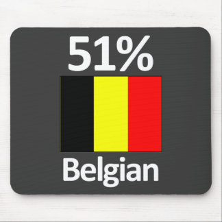 51% Belgian Mouse Pad