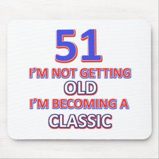 51 birthday desigs mouse pad