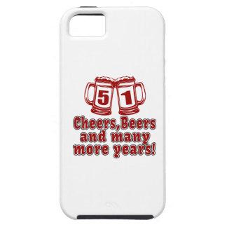 51 Cheers Beer Birthday iPhone SE/5/5s Case